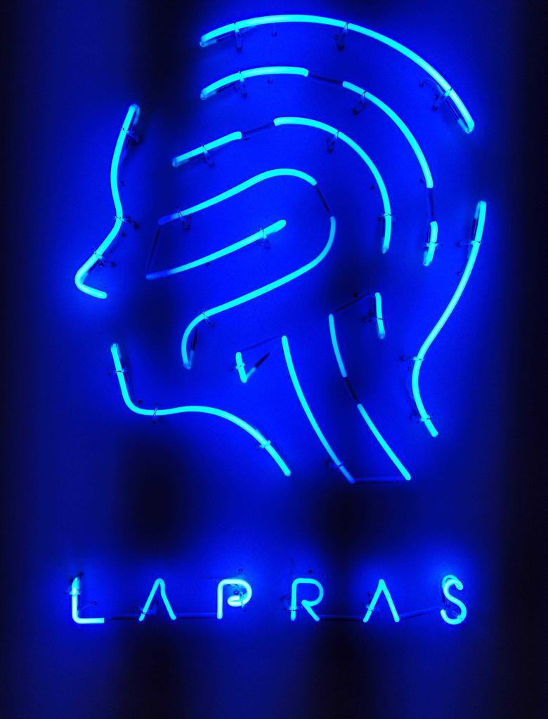 思い出深いLAPRASのネオン